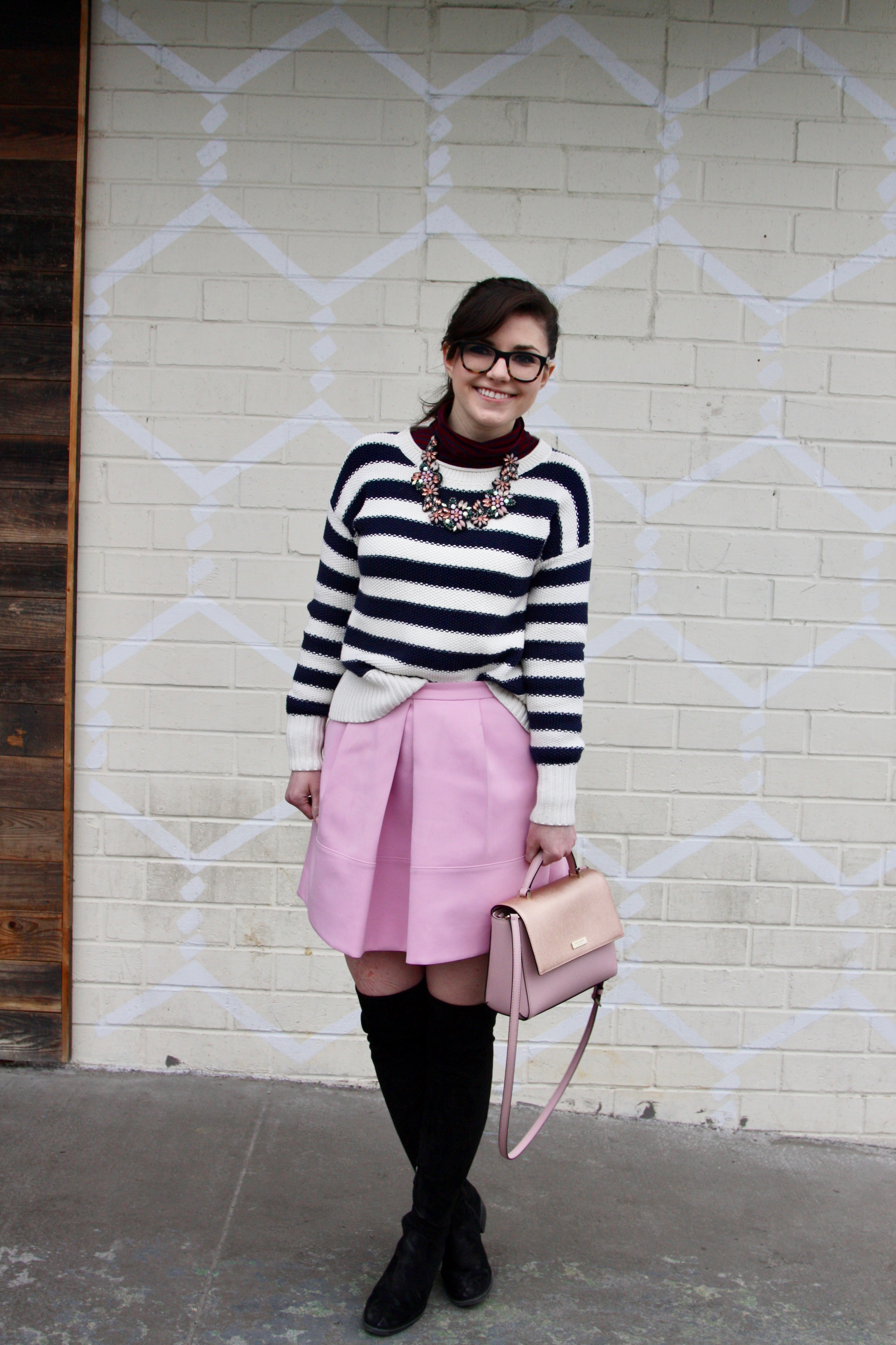 Stripes on Stripes with Lots of Pink - Lefty Living Life