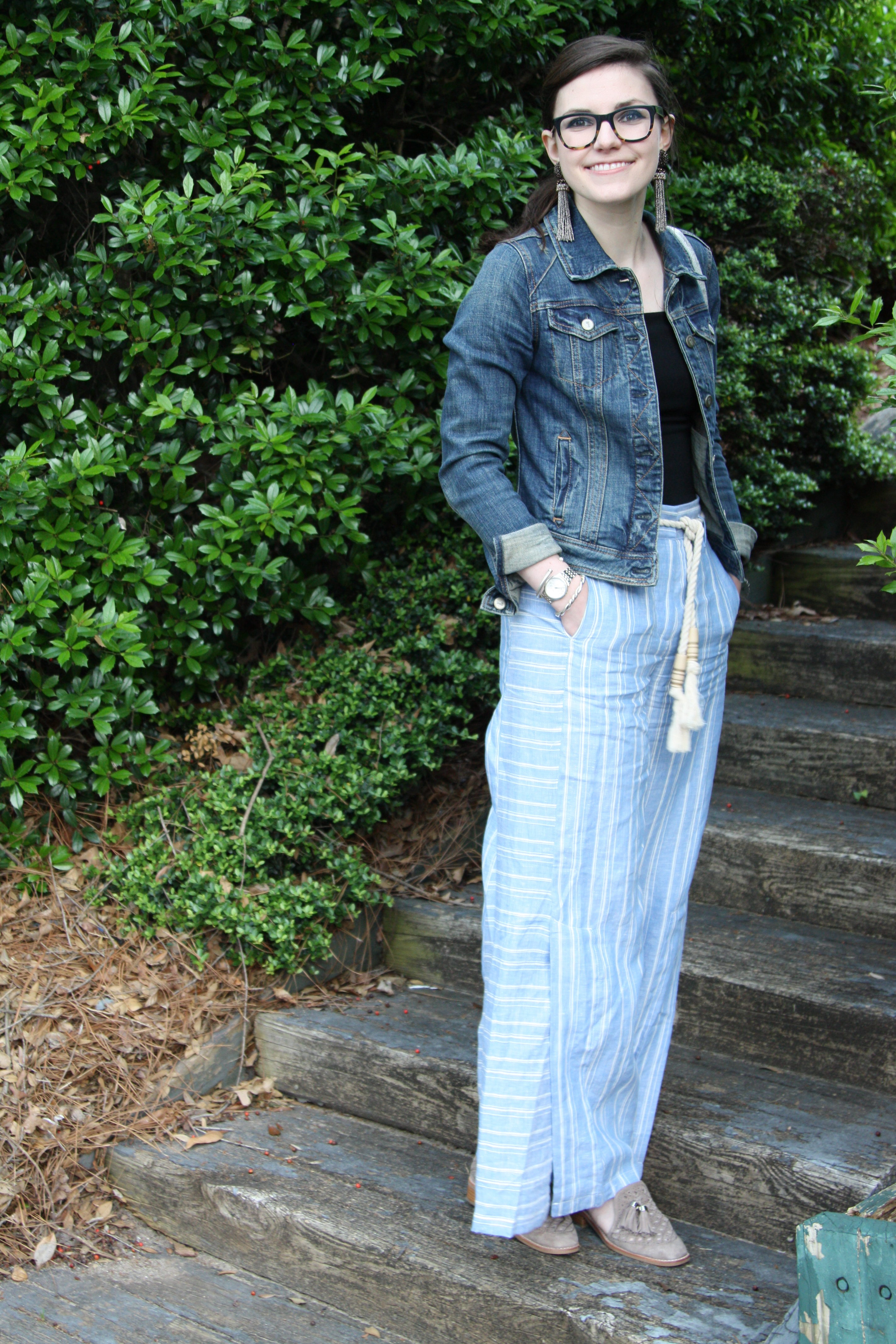 Stripes and Tassels - Lefty Living Life