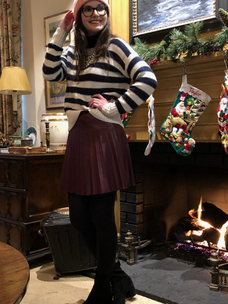 Stripes at the Fireside